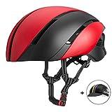 ROCK BROS Aero Bike Helmet Cycling Helmet TT Road Bike Helmet for Women Men Bicycle for Road Bike