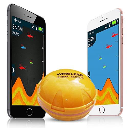 Ecoscandaglio Portatile Per Telefono Cellulare, Ecoscandaglio Senza Fili Bluetooth, Ecoscandaglio Per Pesca In Profondit, Ecoscandaglio Intelligente Ad Alta Definizione