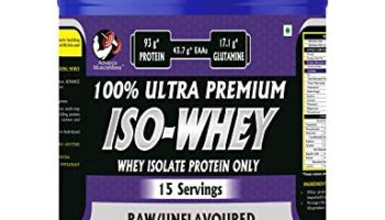 Advance MuscleMass Raw Whey Protein Isolate 90% | Pure | 29.3 g protein | Lab tested | Raw Whey from USA | Unflavoured | 500 G (1.1 lb)