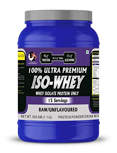 Advance MuscleMass Raw Whey Protein Isolate