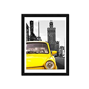 1. Elegant Design: Black picture frames 12x16 designed to display photo 11x14 documents or poster with mat. (Note: For easy loading photos, Actual mat opening size is designed about 10.31x13.3 inches.) High definition plastic(plexiglass) front cover,...