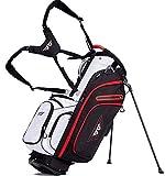 EG EAGOLE Light Golf Stand Bag 14 Way Full Length White