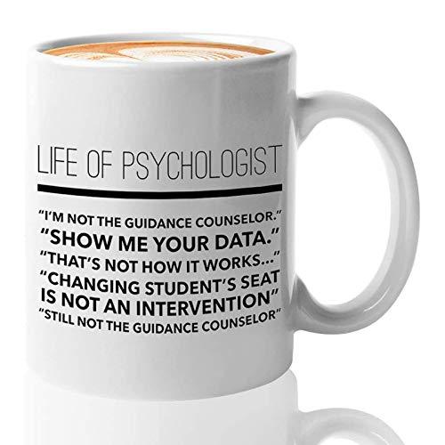 Psychologist Coffee Mug for Mental Therapist School...