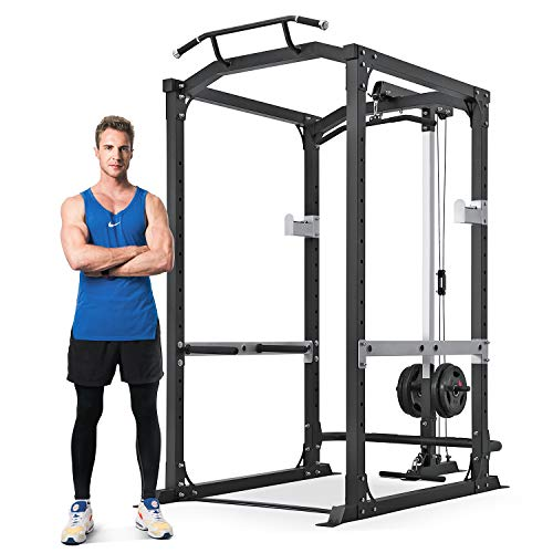 MaxKare Power Cage with LAT Pulldown Attachments | 2.5' Frame 1600 LBS...