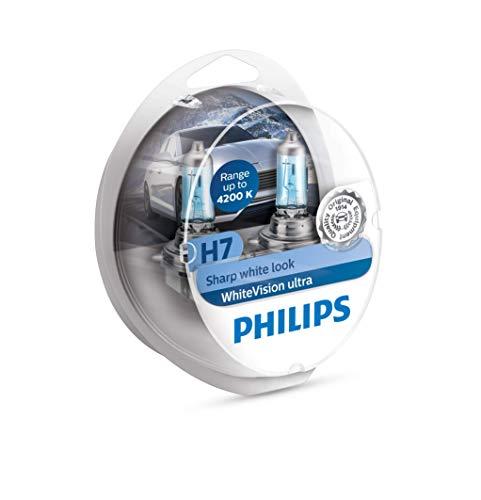 WhiteVision ultra effetto Xenon H7 lampada fari, 4.200K, confezione doppia