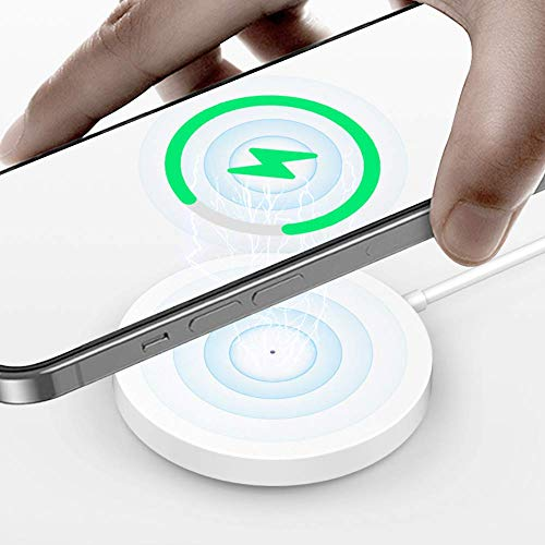 TIMESS 15W Qi Magnet Wireless Charger for iPhone 12 Mini/Max 12 Pro...