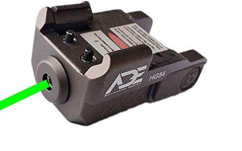 Ade Advanced Optics HG54G Full Metal Strobe Laser Sight for Pistol Handgun (FDE)