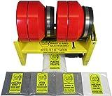 MJR Tumblers 12 LB Rock Tumbler Awarded Best High End, Most Versatile Run 5 Dif Barrel Combinations