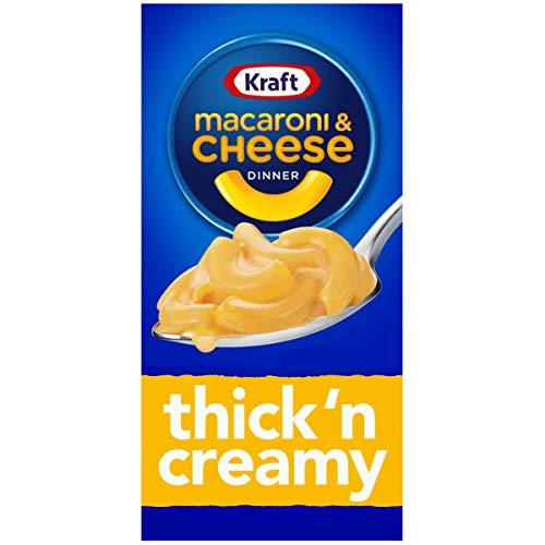 Kraft - Macarrones con queso cena, espesa y cremosa, 7,25 oz