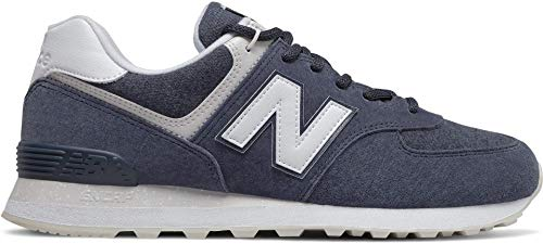New Balance Classics ML574v2 Navy/White 8 EE - Wide