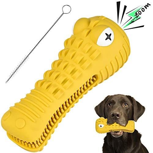Hundespielzeug, BASEIN Kauspielzeug für aggressive Kauer, Hundezahnpflegespielzeug, verwendet für Hunde, Welpen, Zahnpflege, Kauspielzeug, effektive Zahnpflege, aus 100{6f8a9d8a4ca4fdf4d72371cd333bb78817b1ab53e7b09246284c3909d9f5d7cb} Gummi