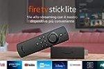 Fire TV Stick Lite con telecomando vocale Alexa   Lite (senza comandi per la TV), Streaming in HD, modello 2020