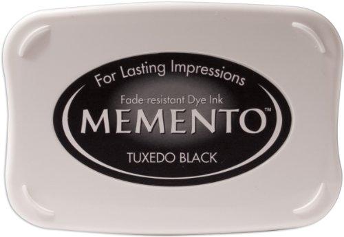 Tuxedo Black Memento Full Size Dye Inkpad ME-000-900