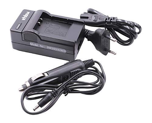 vhbw caricabatterie compatibile con Ricoh DB-110 adatto a Ricoh G900, G900SE, GR III, WG-6 batterie di fotocamera videocamera DSLR