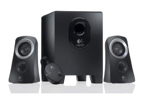 Logitech Z313 2.1 Sistema di Altoparlanti Multimediali con Subwoofer, Audio Full Range, 50 Watt,...