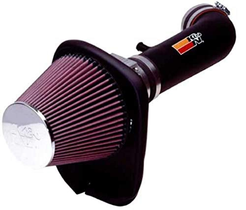 K&N Cold Air Intake Kit: High Performance, Guaranteed to Increase Horsepower: 50-State Legal: 1997-2001 FORD (Explorer Sport Trac, Explorer)57-2528