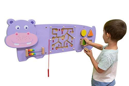 Learning Advantage Hippo Activity Wall Panel - 18m+ -...