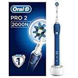Braun Oral-B Pro2 - 2000 - Brosse à Dents Électrique Rechargeable, 1Manche...