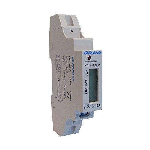 Compteur électrique compteur numérique Compteur électrique wattmètre 230V 5(40) A