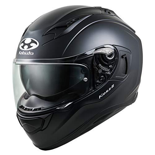 オージーケーカブト(OGK KABUTO)バイクヘルメット フルフェイス KAMUI3 フラットブラック (サイズ:L) 584832