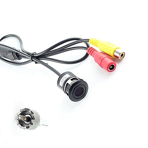 Cocar Auto Retrovisore Telecamera Riserva Fotocamera Paraurti Foratura 18mm Supporto Universale Fit Parcheggio Assistenza Linee Griglia