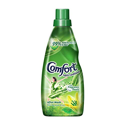 Comfort After Wash Anti Bacterial Fabric Conditioner (Fabric Softener) - For Shine And Long Lasting Freshness, 860 ml