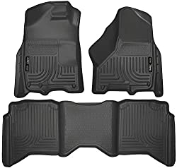 Husky Liners 99001 Black Weatherbeater Front & 2nd Seat Floor Liners