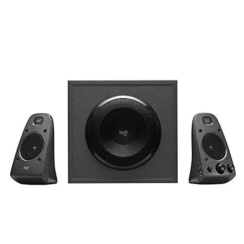 Logitech Z625 Powerful THX Certified 2.1 Speaker System with Optical...