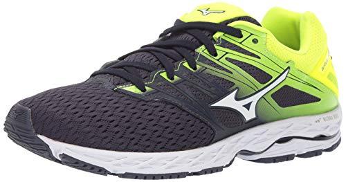 Mizuno Men's Wave Shadow 2 Running Shoe, Graphite-White, 10 D US