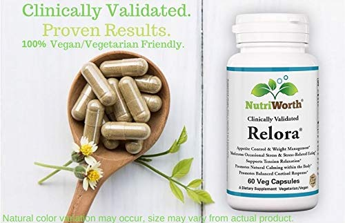 Nutriworth Relora - Clinically Validated - Stress & Weight Management Supplement. Promotes Balanced Cortisol & DHEA Production. 2 - My Weight Loss Today