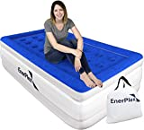 EnerPlex Twin Air Mattress - Luxury, 16-inch, Double Height Inflatable Bed w/ Built-in Dual Pump
