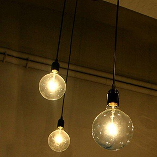 110-220V Vintage Edison Soffitto Apparecchio a Sospensione Industrial Light Lampada Regolabile...