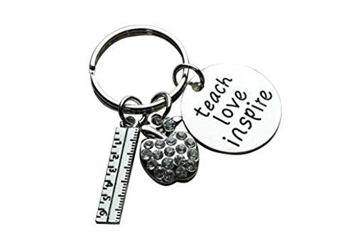 Infinity Collection Teacher Keychain, Teacher Jewelry,...