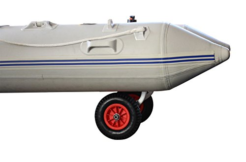 "Brocraft Boat Launching Wheels/Boat Launching Dolly 12"" Wheels for Inflatable Boats & Aluminum Boats"