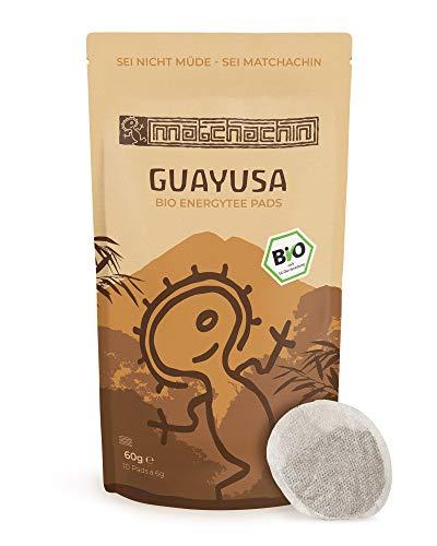 Guayusa Energypads BIO von Matchachin - Das Original (10 Pads a 6g) [Pure Guayusa Teepads / Senseo] Der Nachtwächter Tee der Quichua Indianer