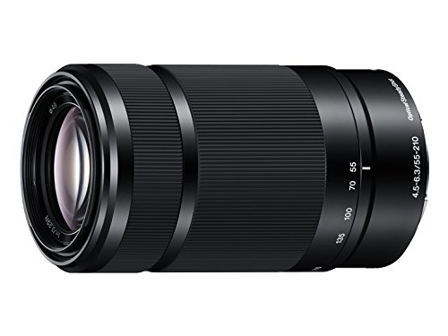 Sony E 55-210mm F4.5-6.3 Lens for Sony E-Mount Cameras (Black) - International Version (No Warranty)