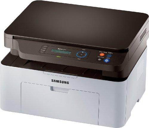 Samsung SL-M2070 Xpress, Stampante multifunzione laser (stampa, copia, scansione), Bianco/Nero