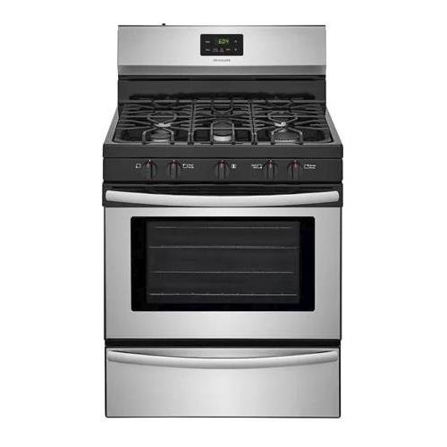 Frigidaire FFGF3052TS 30 Inch Gas Freestanding Range with 5...