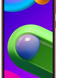 Samsung Galaxy M02 (Red,2GB RAM, 32GB Storage)