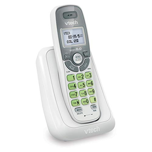 VTech CS6114 DECT 6.0 Cordless Phone with Caller...