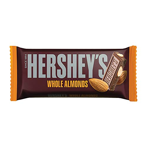 Hershey's Whole Almonds Chocolate Bar, 100g (Pack of 3)