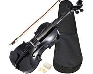 Violino sverve com estojo 4/4 black pearl