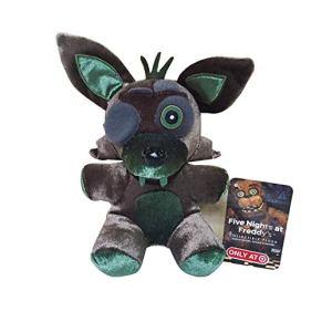 Peluches 18cm FNAF Five Nights At Freddy'S 4 Nightmare Foxy Fox Stuffed Plush Toys Soft Toy Doll Regalos para Niños…