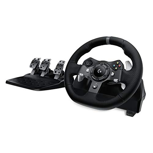 Logitech G920 Dual-Motor Feedback Driving Force Racing Wheel with...