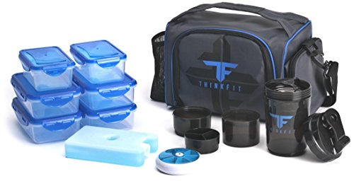 ThinkFit Insulated Meal Prep Lunch Box...
