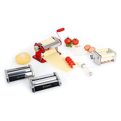Klarstein Siena Rossa - Pasta Maker, Nudelmaschine,...