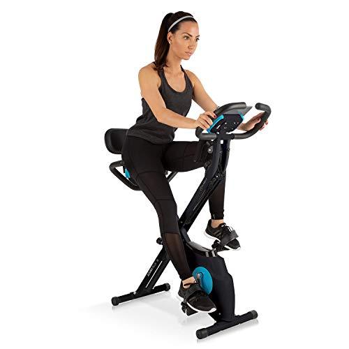 Capital Sports Azura Plus 3-in-1 Heimtrainer - Fitnessbike, Fitness-Fahrrad, Cardio-Training, Riemenantrieb,...
