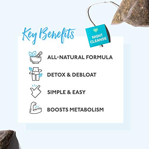 SkinnyMint 28 Day Ultimate Teatox (42 Tea Bags). All Natural Tea Blend to Support Your Weight Loss Goals and Help Boost Your Energy Levels. 7