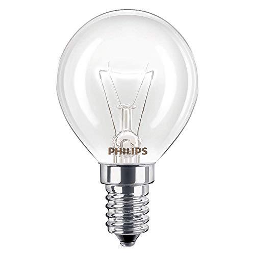 Philips Lampadine da forno, da 40 W, SES, E14, attacco a vite, resistente fino a 300, per forni AEG,...