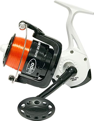 kolpo Mulinello Surfcasting King Sea Orange 8000